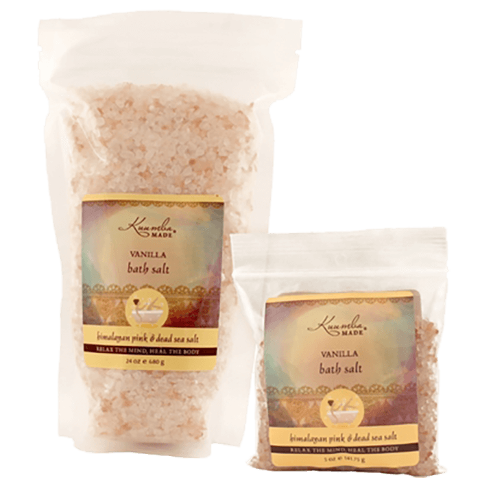 Kuumba Made Vanilla Bath Salt | 24 oz | 5 oz