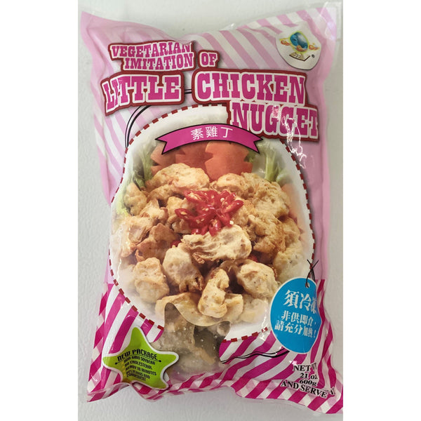 素雞丁 600g  --  Vegetarian Little Nugget (Chicken Flavor) 600g