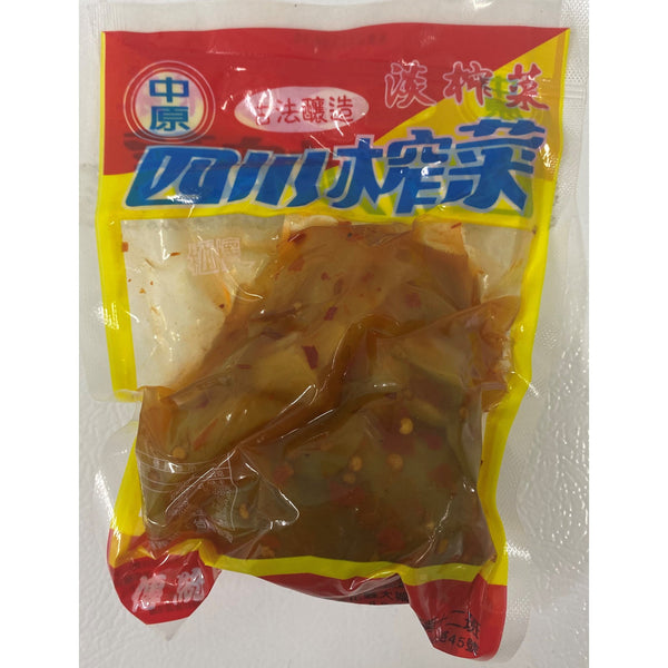 全素 四川榨菜 250g --Vegan Pickled Sichuan Mustard 250g