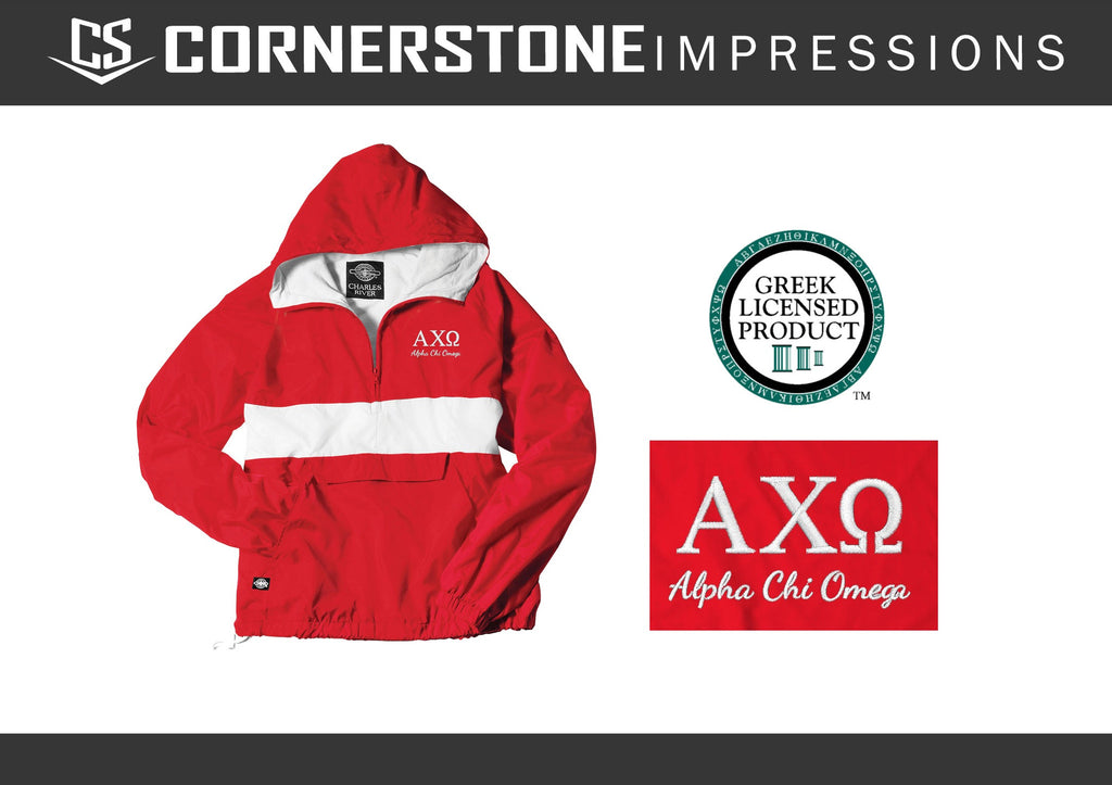 Charles River Embroidered Sorority Jackets