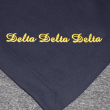Embroidered Sorority Blankets