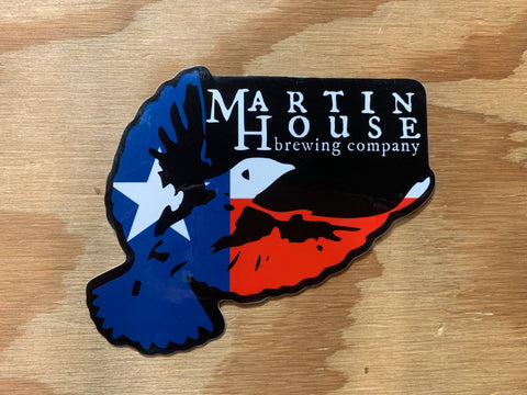 Martin House Sticker - Texas