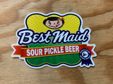 Martin House Sticker - Sour Pickle Beer
