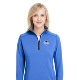 TMS Ladies Quarter Zip Pullovers