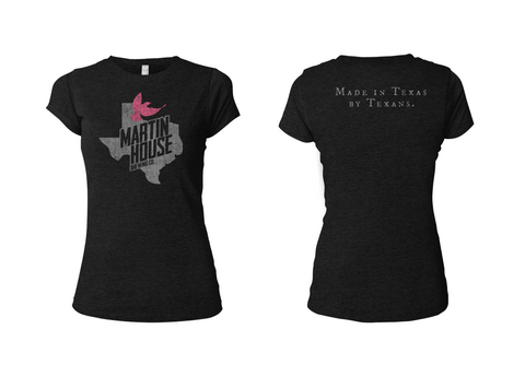 Martin House Ladies Texas Bird Tee