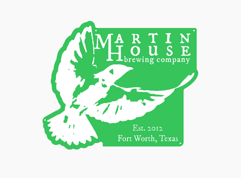 Martin House Tin Sign