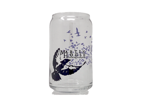 Martin House Purple Martin Pint Glass