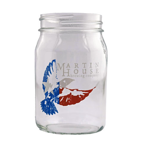 Martin House Texas Mason Jar