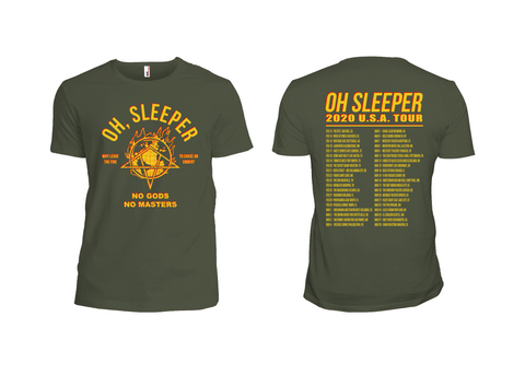 Oh, Sleeper USA Tour 2020 Shirts