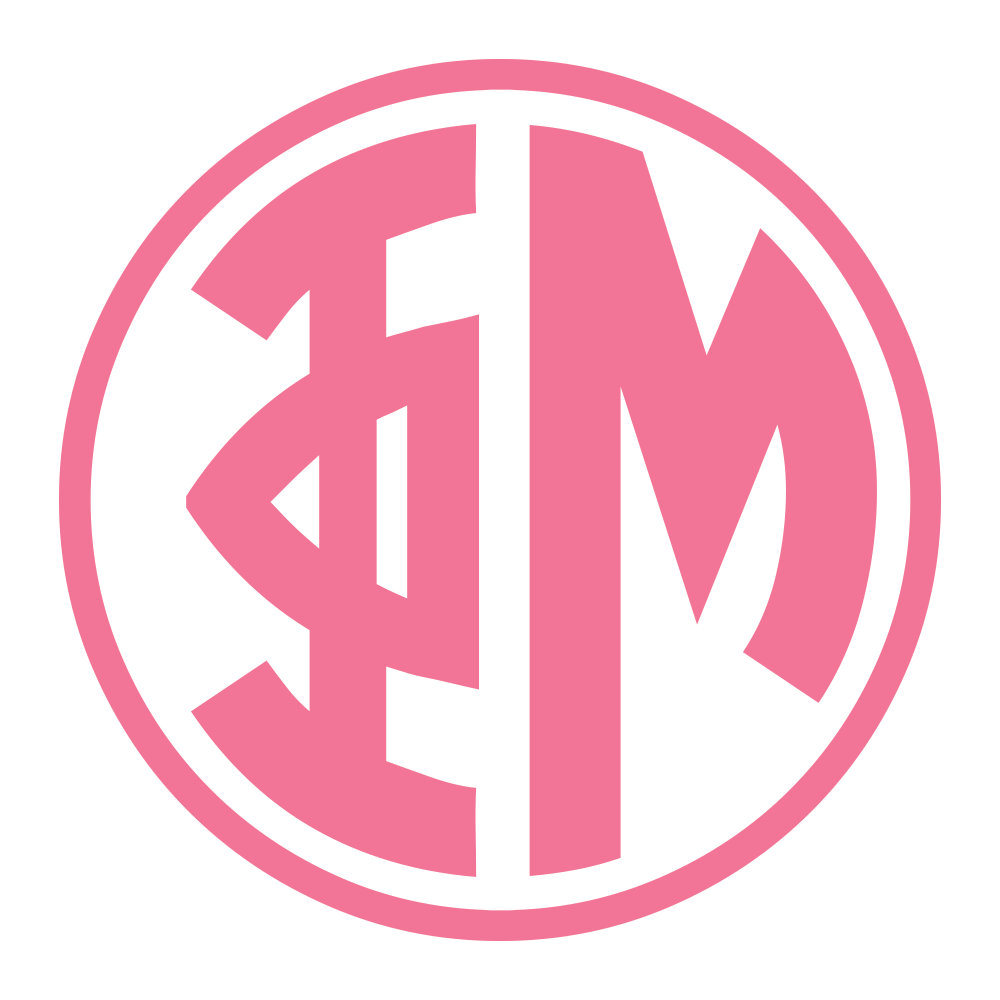 Single Color Sorority Decals