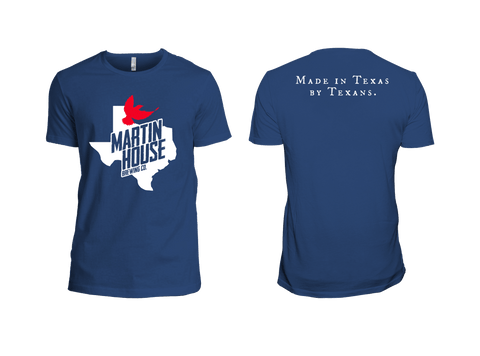 Martin House Texas Bird Tees