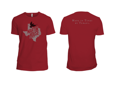 Martin House Texas Bird Tee