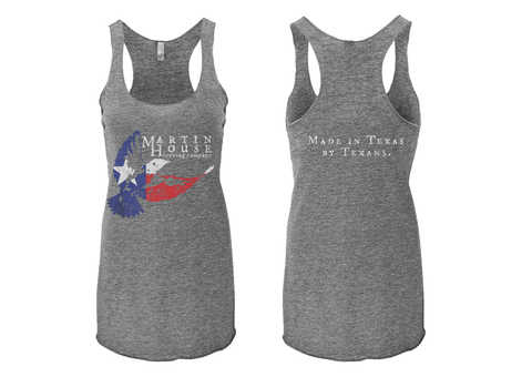 Martin House Texas Flag Racerback