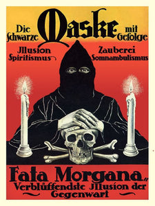 Fata Morgana (The Black Mask) - Poster