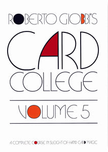 Card College Volume 5 - Book