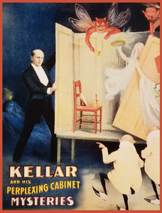 Kellar and his Perplexing Cabinet Mysteries - Poster