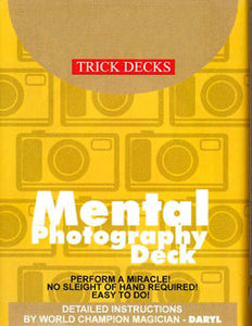 Mental Photography Trick Deck (Bicycle)