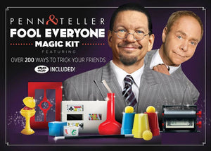 Penn & Teller Fool Everyone Magic Kit