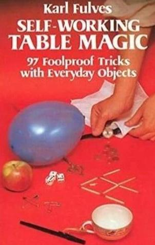 Self-Working Table Magic - Book