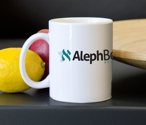 The Aleph Beta Mug
