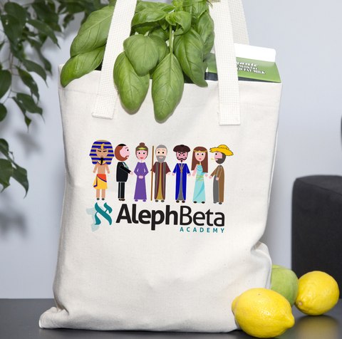 Aleph Beta Tote - Characters