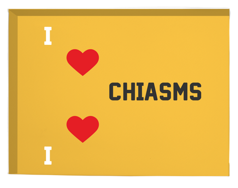 I Heart Chiasms- Canvas