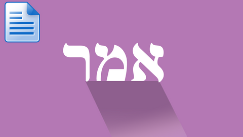 Parsha - Emor: Is There A Shabbat In Other Realms?