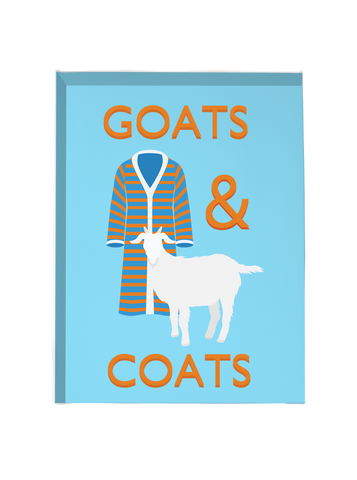 Goats & Coats - Canvas