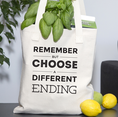 Remember But Choose A Different Ending - Tote