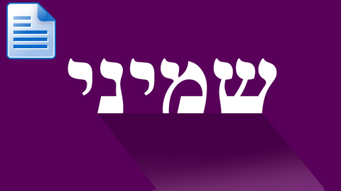 Parsha - Shemini: Why Did God Reject Nadav and Avihu?