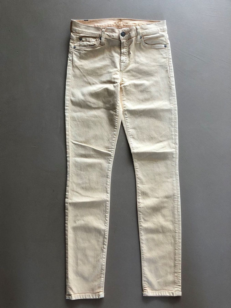 hellgelbe Hose von 7 for all mankind