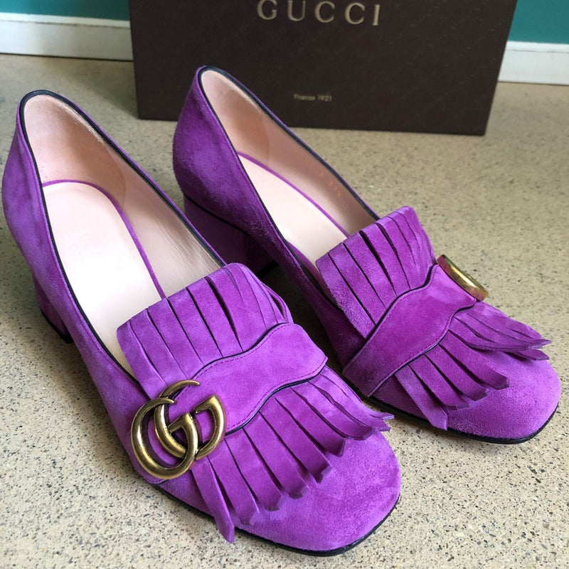 neue GUCCI Marmont GG Pumps