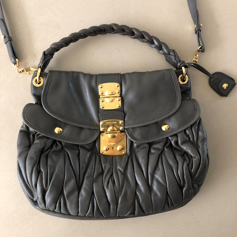 MIU MIU Coffer Hobo Bag