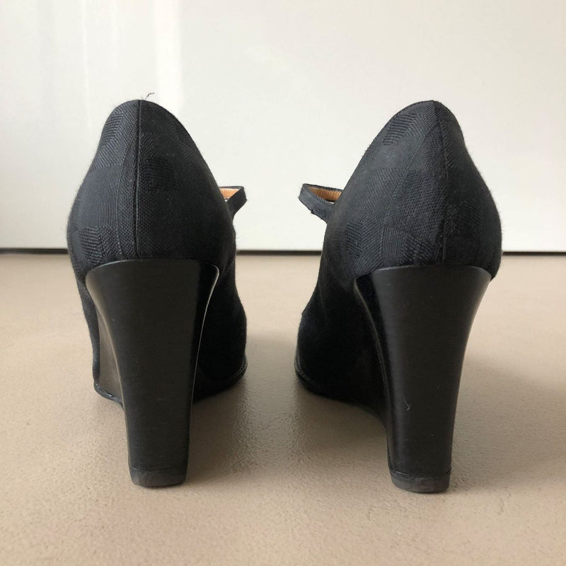 BALLY Riemchen-Pumps