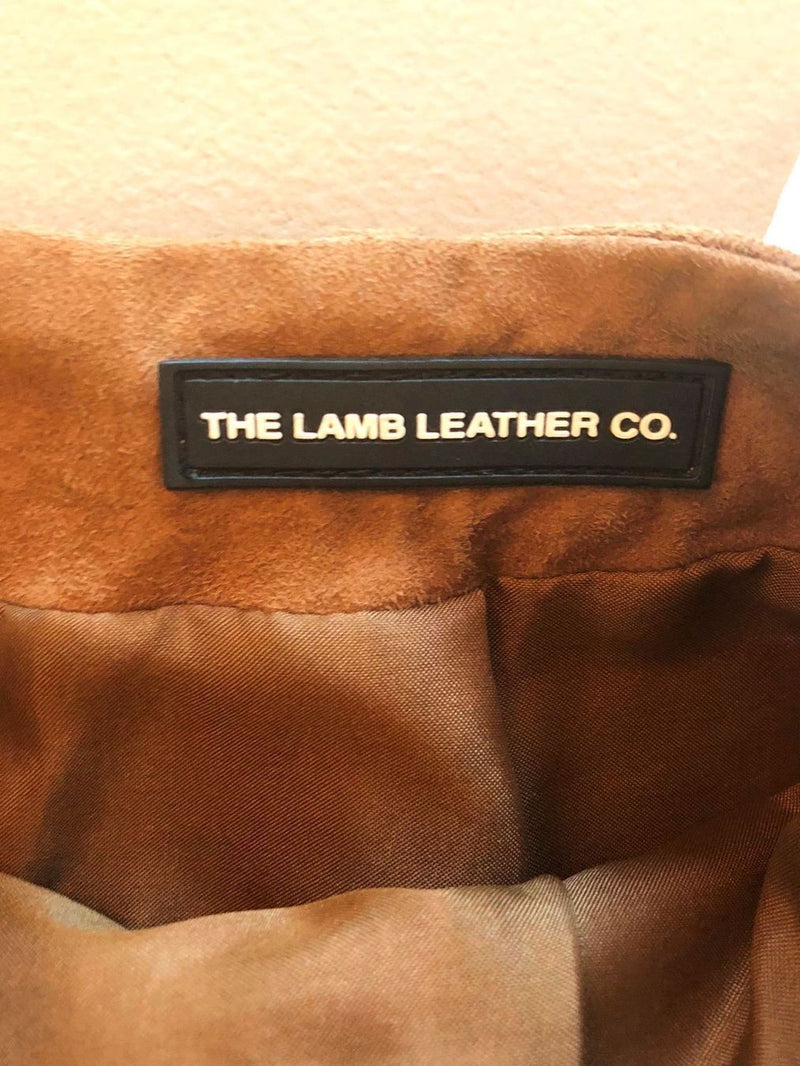 THE LAMB LEATHER CO. Suede Leder Rock