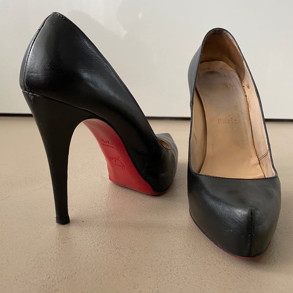 CHRISTIAN LOUBOUTIN Plateau Pumps