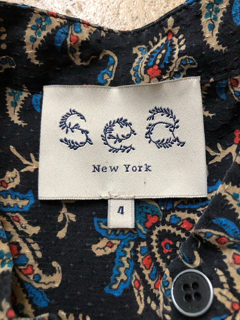 SEA NEW YORK Seiden Bluse