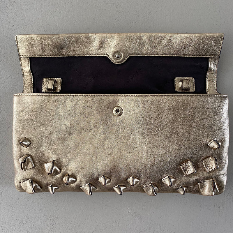 HUGO BOSS Leder Clutch