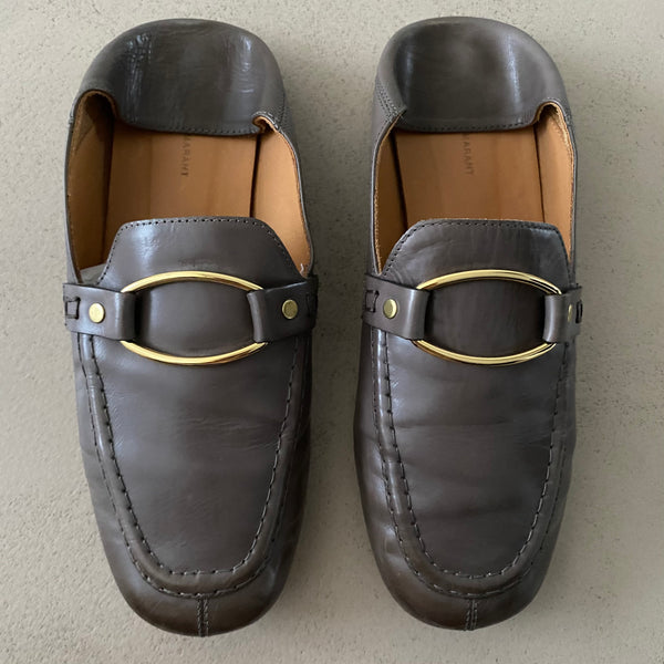 ISABEL MARANT Leder Loafers