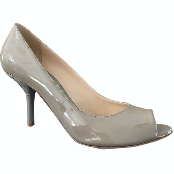 BOTTEGA VENETA Lackleder Pumps