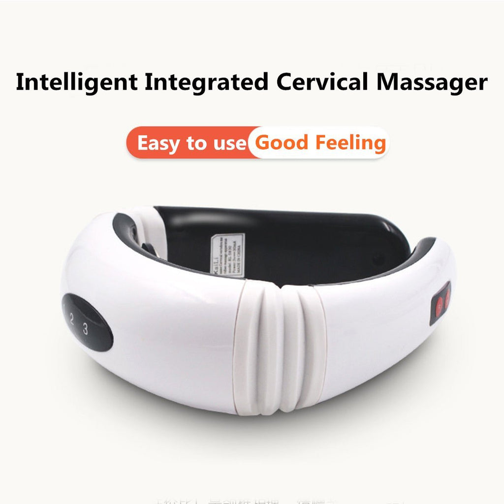 CervicalPlus™ Hot Electric Cervical Neck Support Massager Body Shoulder Relax Massage Magnetic Therapy - Shopcytee