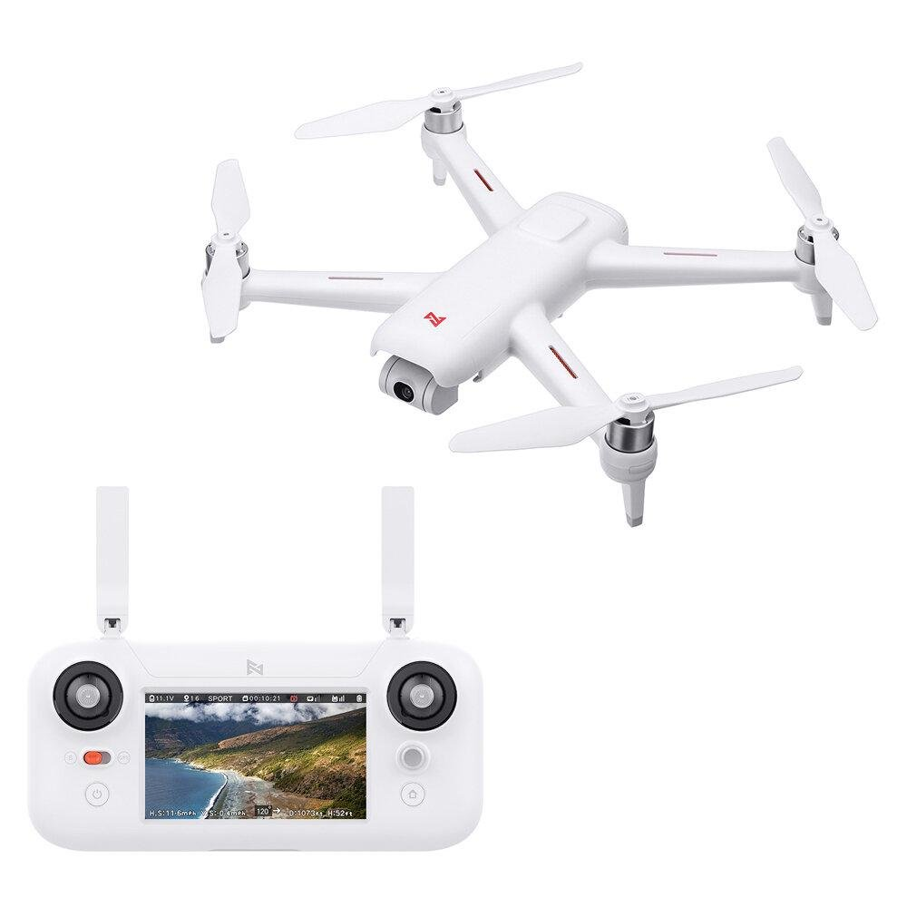 DronePlus™ Quadcopter With 2-axis Gimbal 1080P HD Camera Drone RTF 1KM Max R/C Distance 25mins Max Flight Time - Shopcytee
