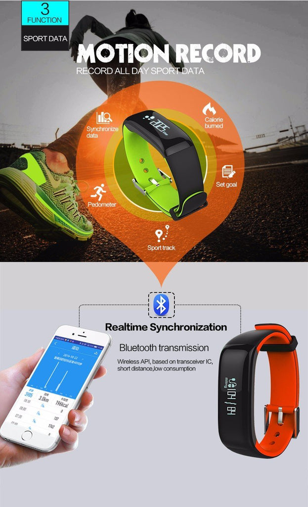 HeartControl™ Smart Watch with Heart Rate & Blood Pressure Monitor - Shopcytee