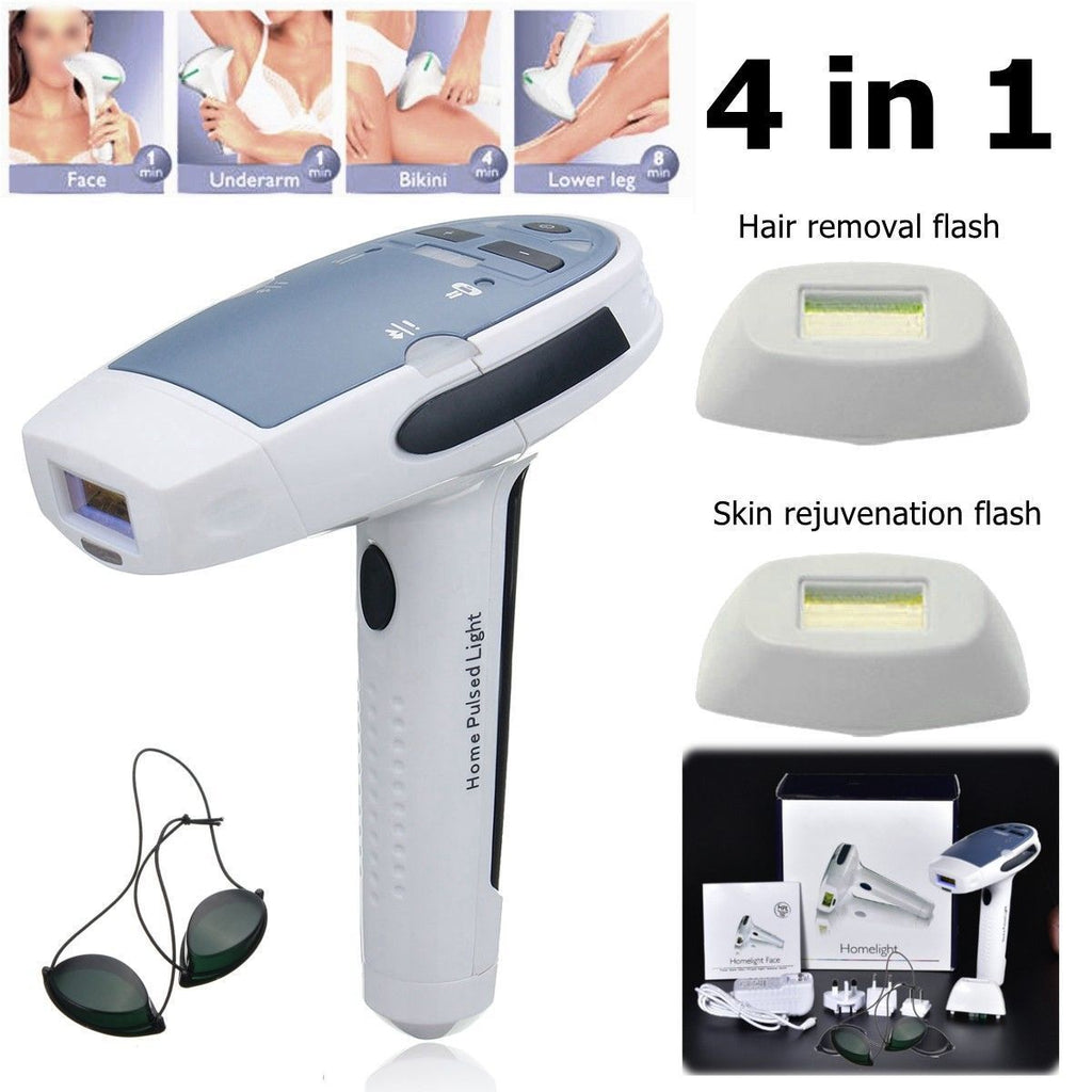 HomePulsedLight™ Permanent IPL Hair Remover Body Hair 5 Level Removal Device Kit for Home Use - Shopcytee
