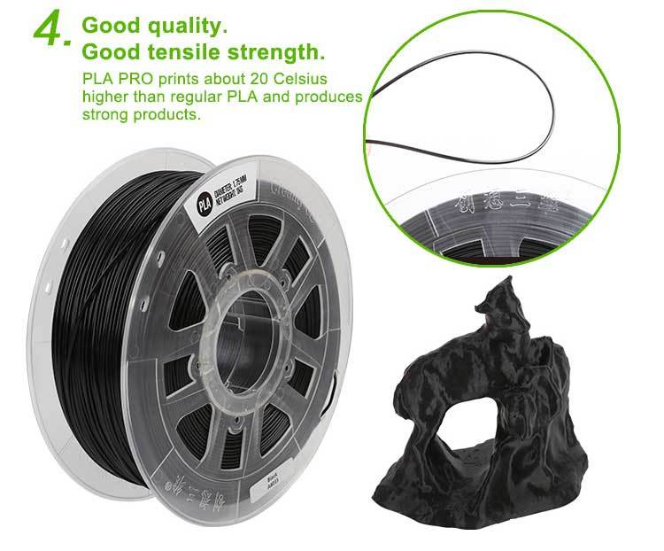 PLA Filament For CreaPrint3D™ DIY Home 3D Printer for Creativity Model Building & Prototyping - Shopcytee