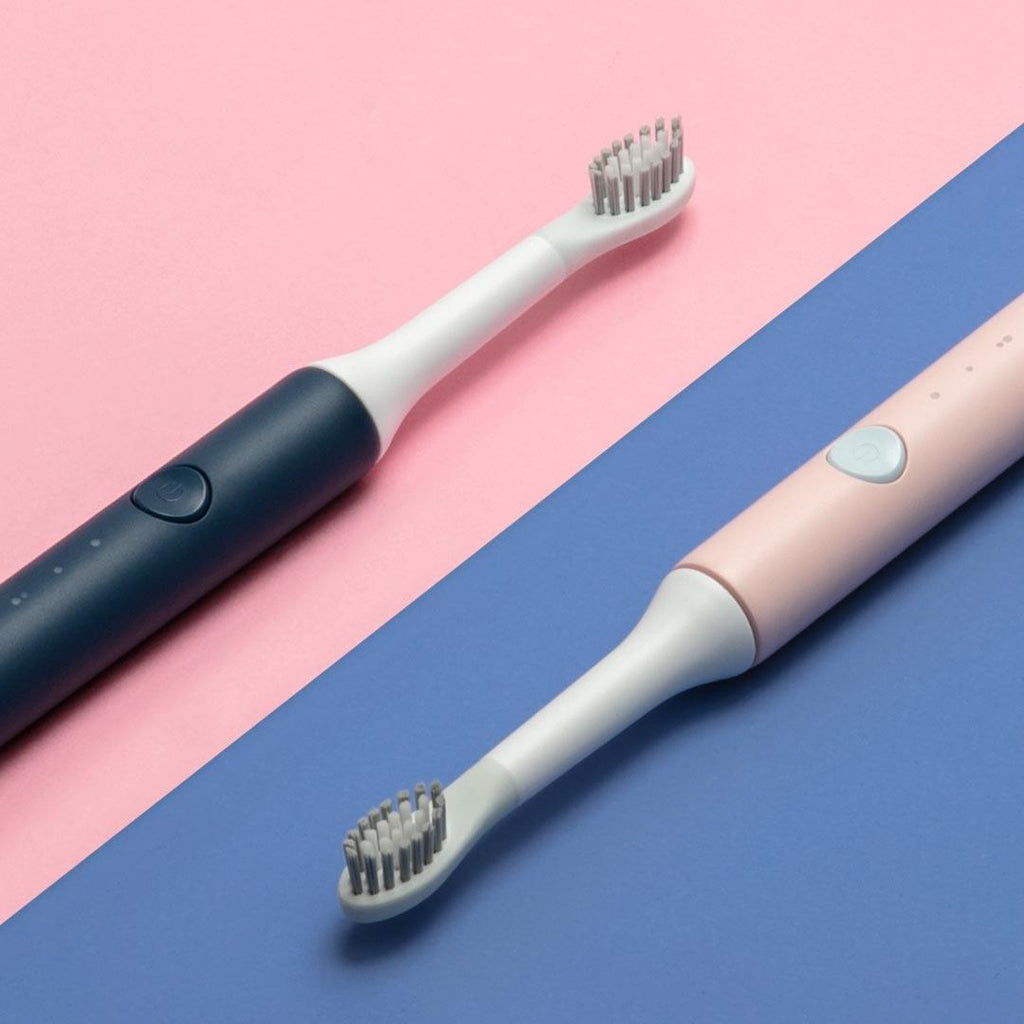 So White™ Electric Sonic Toothbrush Wireless Induction Charging Waterproof - Shopcytee