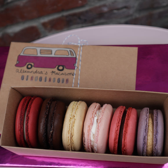 Valentines Macaron Collection