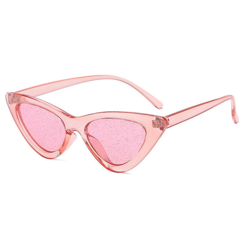 Occhiali da sole triangolari sexy Cat Eye da donna  retrò