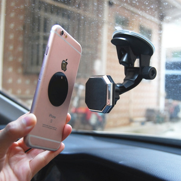 Car Phone Holder Magnetic Car Mount For iPhone Holder Cell Phone Support Smartphone Stand In Car Magnet Mobile Holder