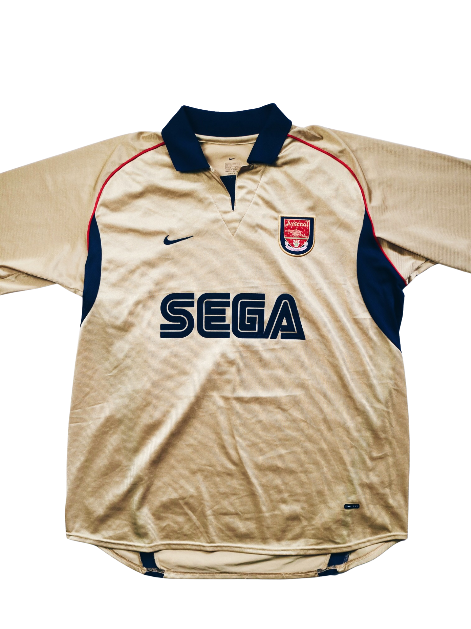Arsenal Away 2001-2002 XL - Unwanted FC